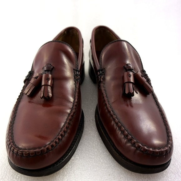 2429bccc40b Brooks Brothers Other - Tassel Loafers Cordovan 10B Mens Leather Shoes